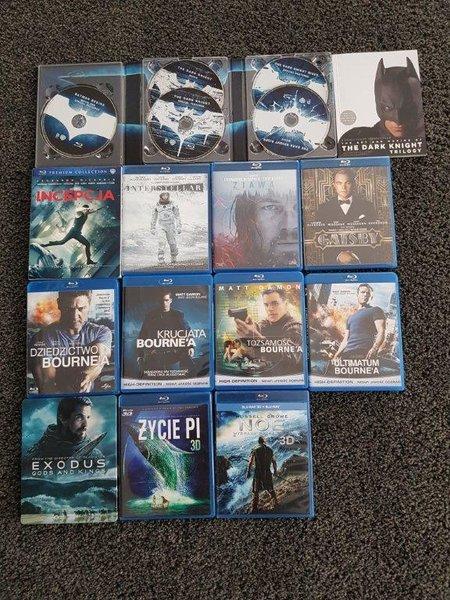Sprzedam zestaw 16 filmów BD