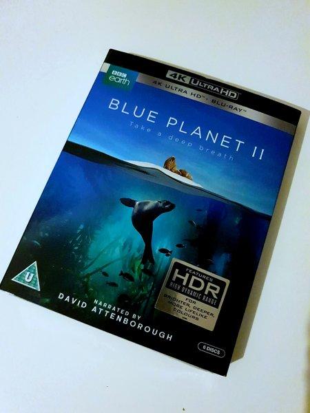 Błękitna Planeta 2 Blue Planet II 4K UHD HDR folia