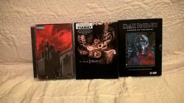 Sprzedam filmy/koncerty BD i DVD + 2 figurki NECA