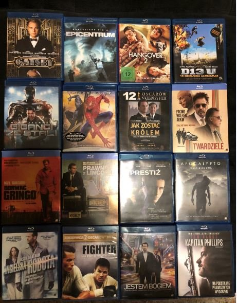 Wymiana/sprzedaż filmów blu ray