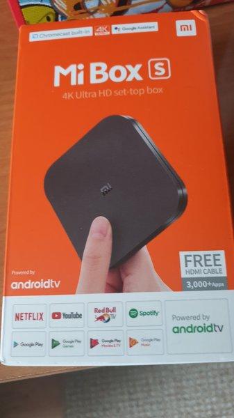 Android Box Xiaomi Mi Box S 4k