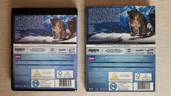 Planeta Ziemia 2 Planet Earth II Blu-ray 4K UHD