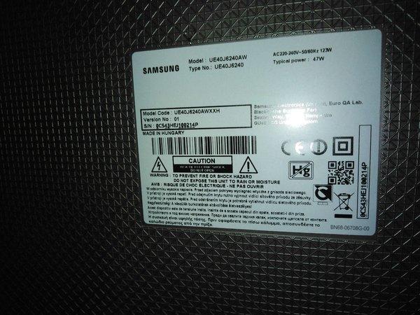 [S] Sprzedam telewizor Samsung UE40J6240AW (seria 6200) - Stan bardzo dobry
