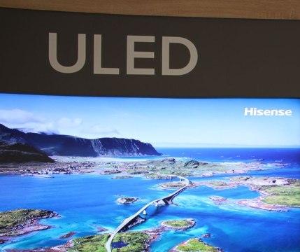 Hisense pokazuje sw�j telewizor ULED TV. Tak ULED a nie OLED!