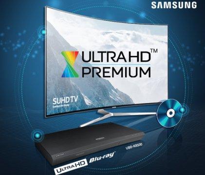 Certyfikat Ultra HD Premium dla odtwarzacza Blu-ray Samsung UBD-K8500 Ultra HD
