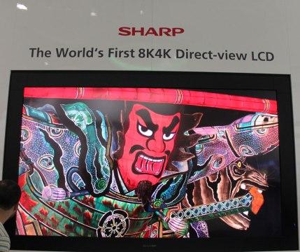 Telewizor 8K od Sharpa za bagatela 130,000 dolar�w
