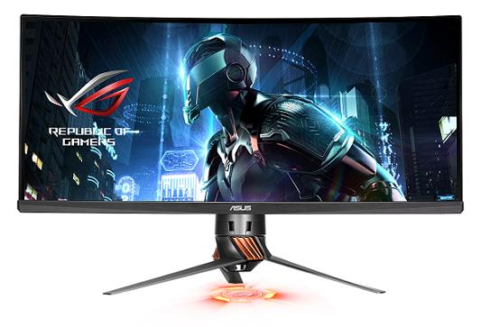 Pierwszy zakrzywiony monitor ROG Swift PG348Q od ASUS Republic of Gamers ju� w Polsce