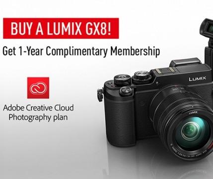 Adobe Photoshop dla wszystkich nabywc�w aparatu Lumix DMC-GX8!