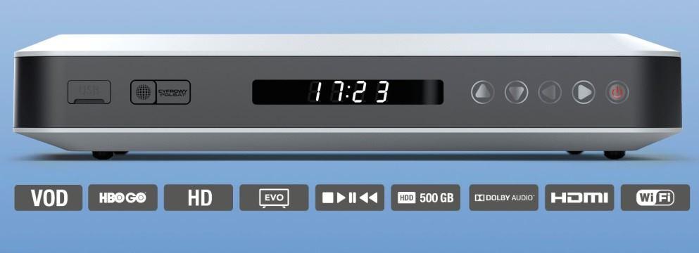 Cyfrowy Polsat: EVOBOX PVR wyr�niony Z�otym Medalem MTP