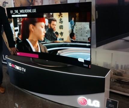 """LG 65EG9600 OLED 4K z tytu�em """"King of TV"""""""