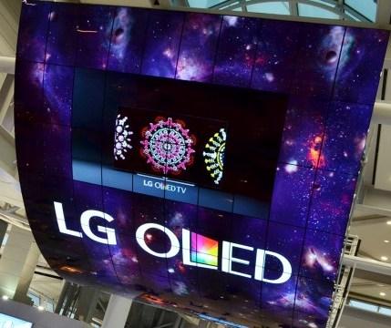 LG prezentuje najwi�kszy na �wiecie wy�wietlacz OLED