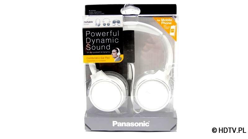 Opakowanie słuchawek Panasonic RP-HF500