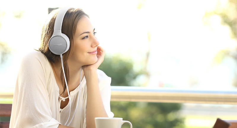 Panasonic RP-HF500 słuchamy