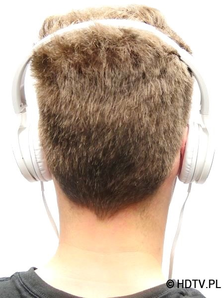 Panasonic RP-HF500 na głowie