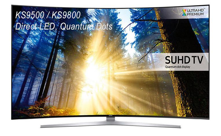 Samsung KS9500/KS9800 (UE65KS9500) Test – Flagowy Direct LED, SUHD, Ultra HD Premium