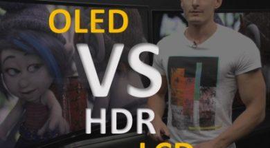 HDR OLED vs LCD