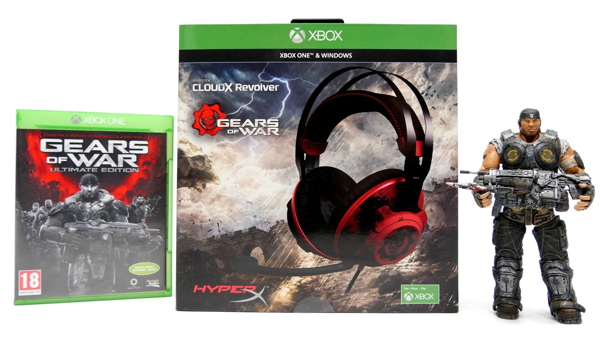 HyperX CloudX Revolver Gears of War – test limitowanych słuchawek gamingowych