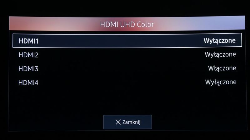 HDMI UHD Color