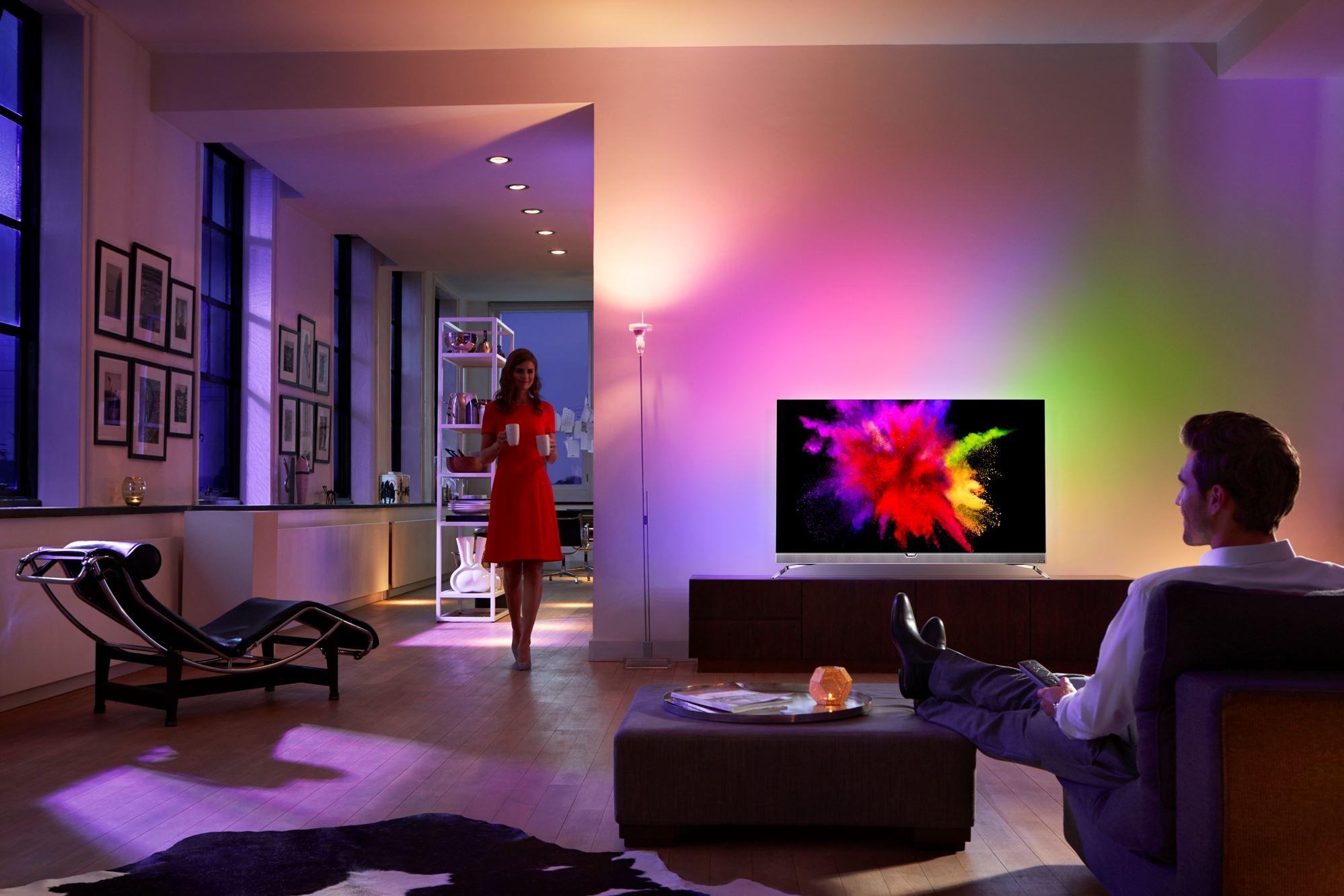 Philips POS901F – Testujemy pierwszy OLED z Ambilight i Android TV