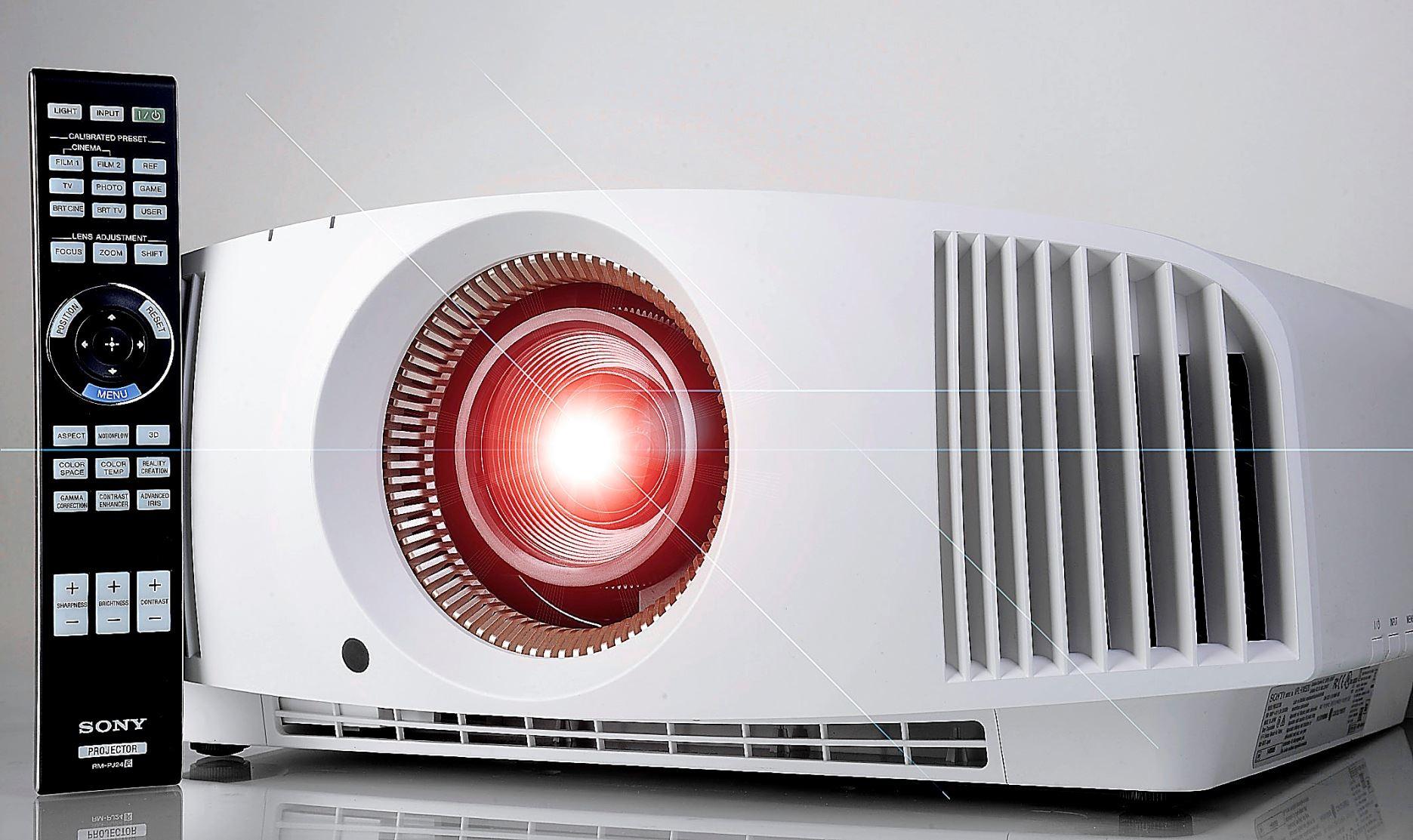 Sony VW550 (VPL-VW550ES) Test projektora Ultra HD 4K z przetwornikiem SXRD