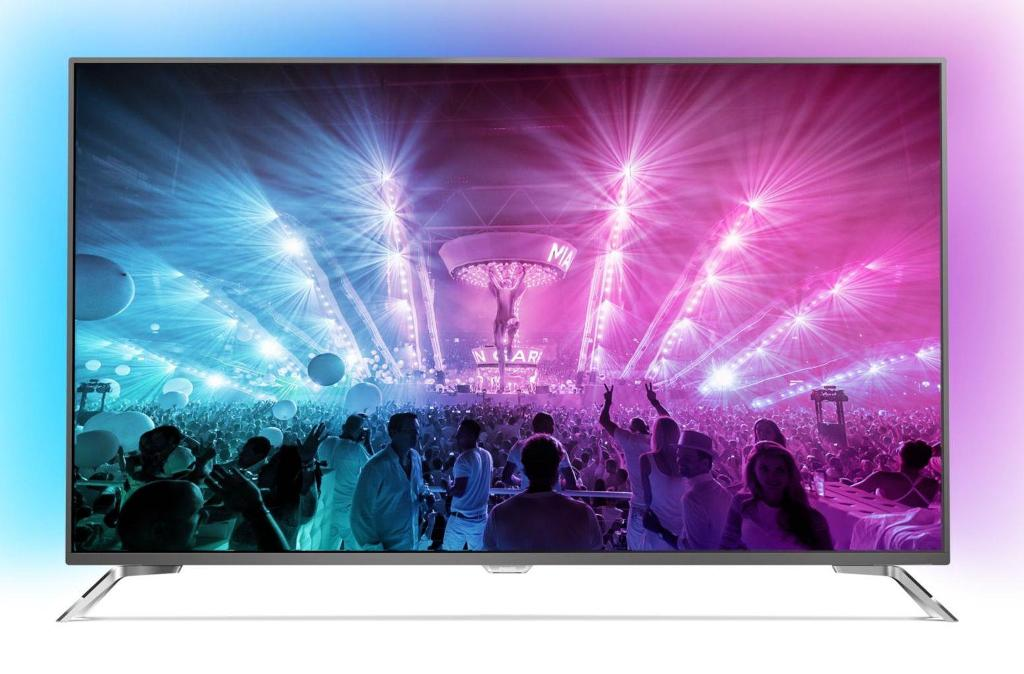 Philips PUS7101 (55PUS7181) Test – Android TV 4K z Ambilight!