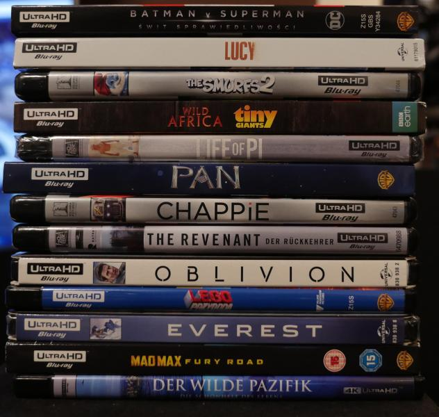 Filmy Ultra HD Blu-ray