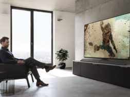 Panasonic TV EZ1000 room