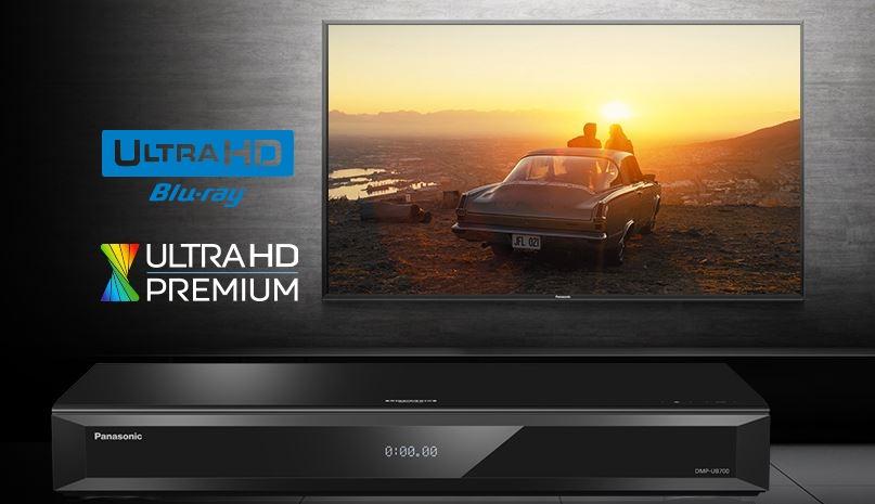 Panasonic UB700 (DMP-UB700) TEST tańszego odtwarzacza Ultra HD Blu-ray 4K