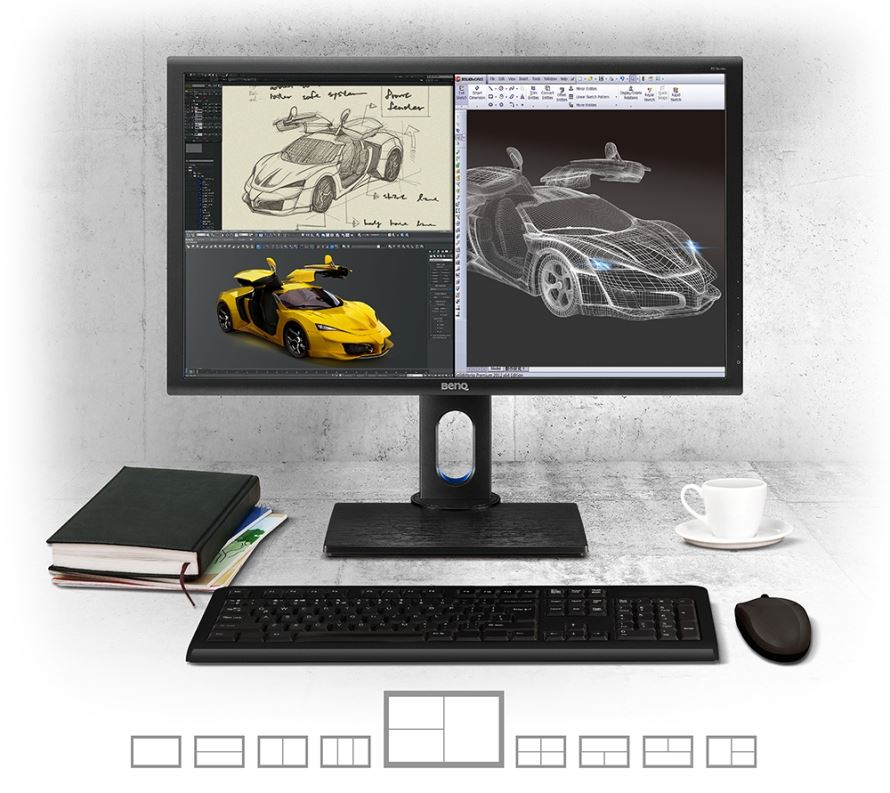 BenQ PD2700Q dla designerów – 27 cali QHD z Dual View