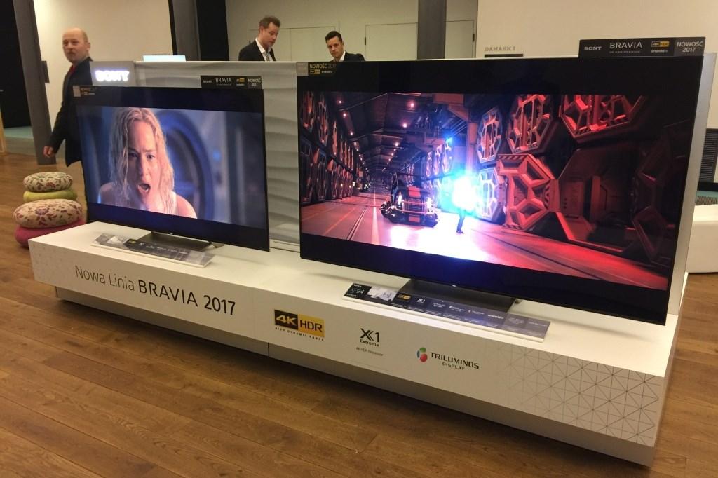 Premiera telewizorów Sony 2017 w Polsce – relacja