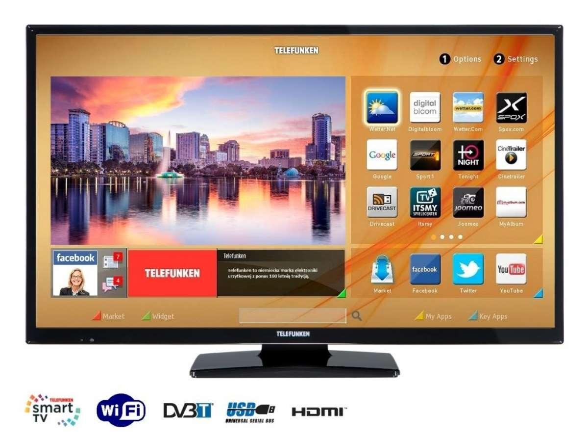 Nowy 32 Calowy Telewizor Telefunken Czyli Smart Tv W Wersji Ekonomicznej Hdtvpolska