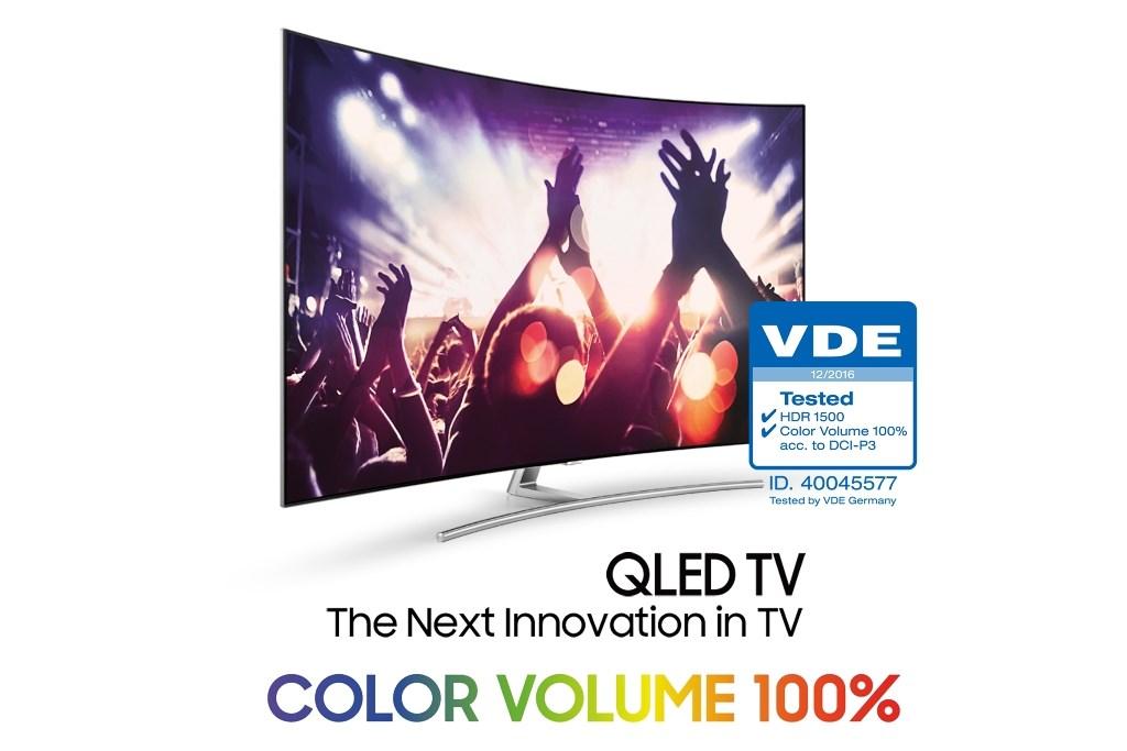 QLED to pierwsze telewizory, które dzięki technologii Quantum Dot oddają pełne natężenie kolorów niezależnie od poziomu jasności obrazu