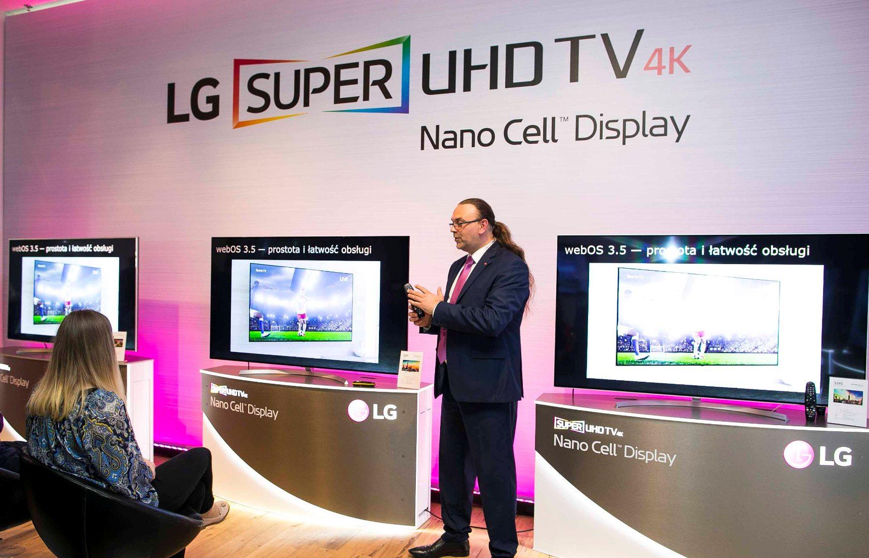 Polski debiut technologii Nano Cell – najnowsze telewizory LG Super UHD 2017 już na polskim rynku