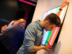 LG OLED wallpaper W7