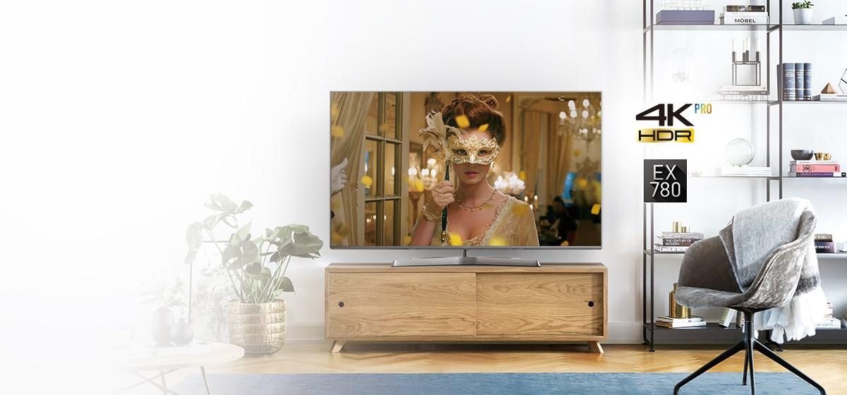 Panasonic EX780 (TX-75EX780e) TEST wielkiego telewizora 2017 Ultra HD z HDR