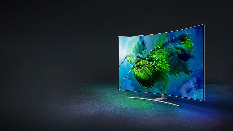Samsung Q8C TEST 65″ telewizora QLED 2017 z Ultra HD i HDR
