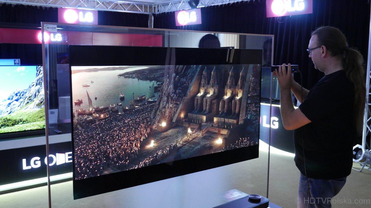 LG OLED W7 zapowiedź