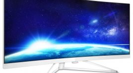 Philips 349X7FJEW/00 TEST monitora LCD WQHD Curved UltraWide z technologią MultiView i AMD FreeSync