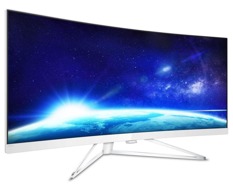 Philips 349X7FJEW/00 TEST monitora LCD WQHD Curved UltraWide z technologią MultiView i AMD FreeSync