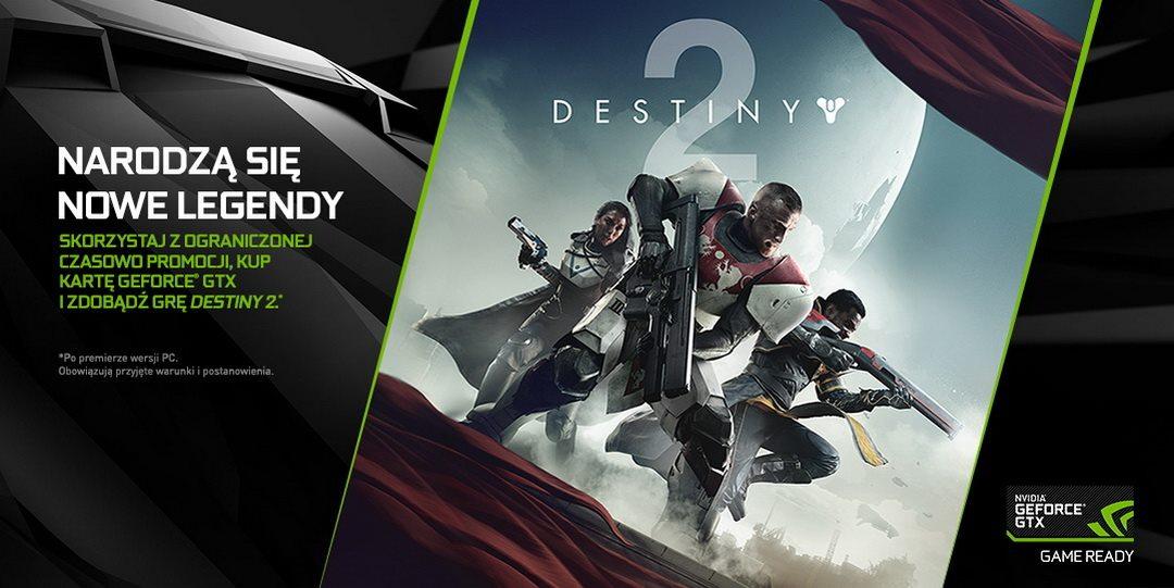 E3: NVIDIA współpracuje z firmami Activision i Bungie nad wersją PC gry Destiny 2 w 4K/60fps