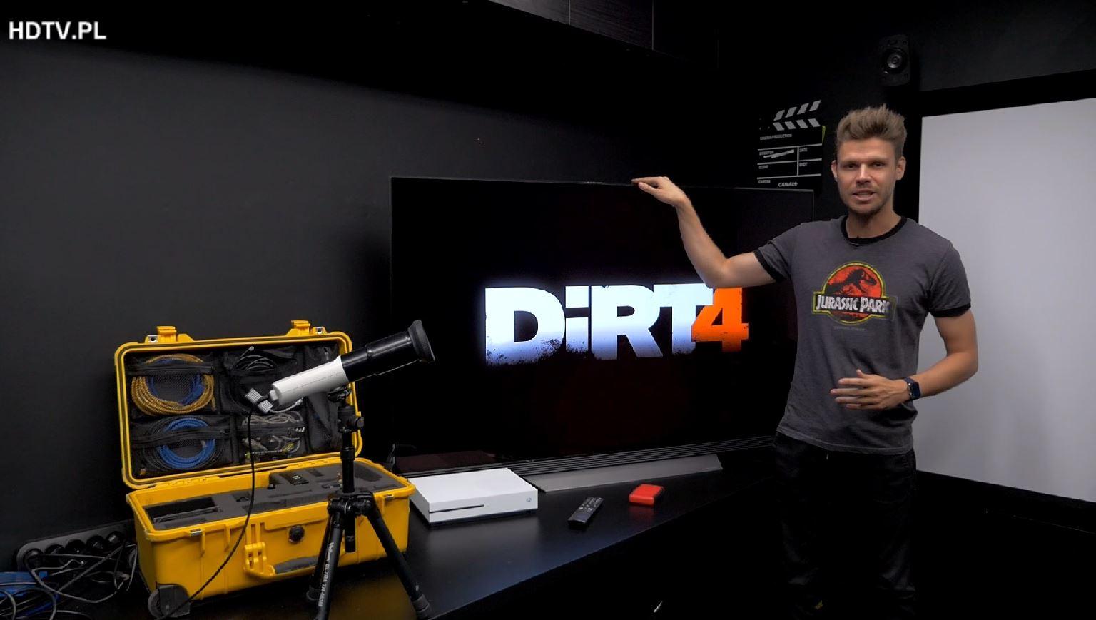 Jak badamy Input Lag w Ultra HD 4K HDR na przykładzie LG OLED E7