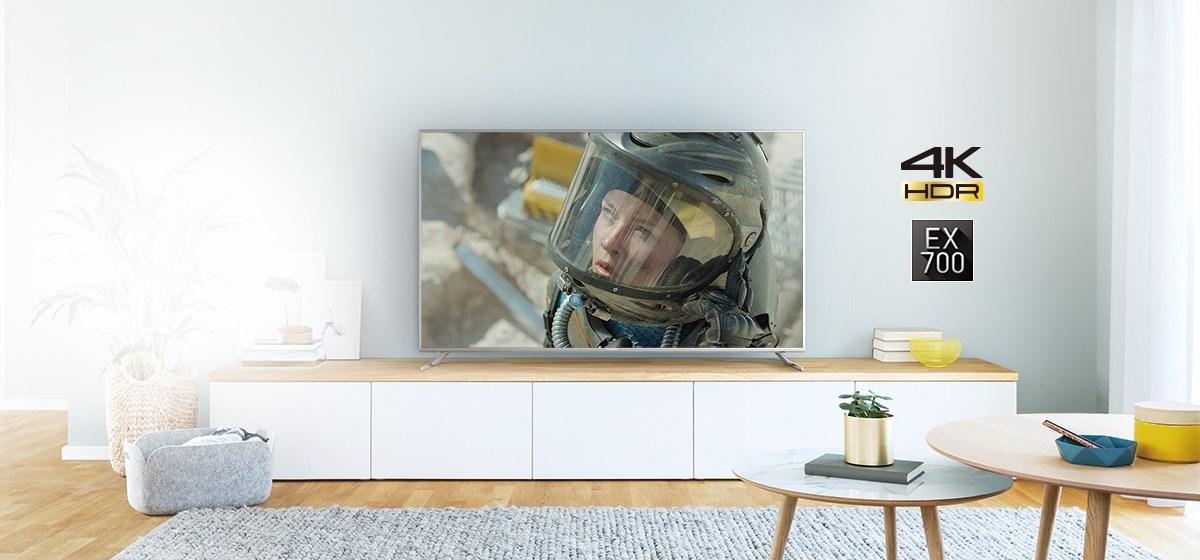 Panasonic EX700 (TX-65EX700e) TEST przystępnego TV Ultra HD (2017) z HDR