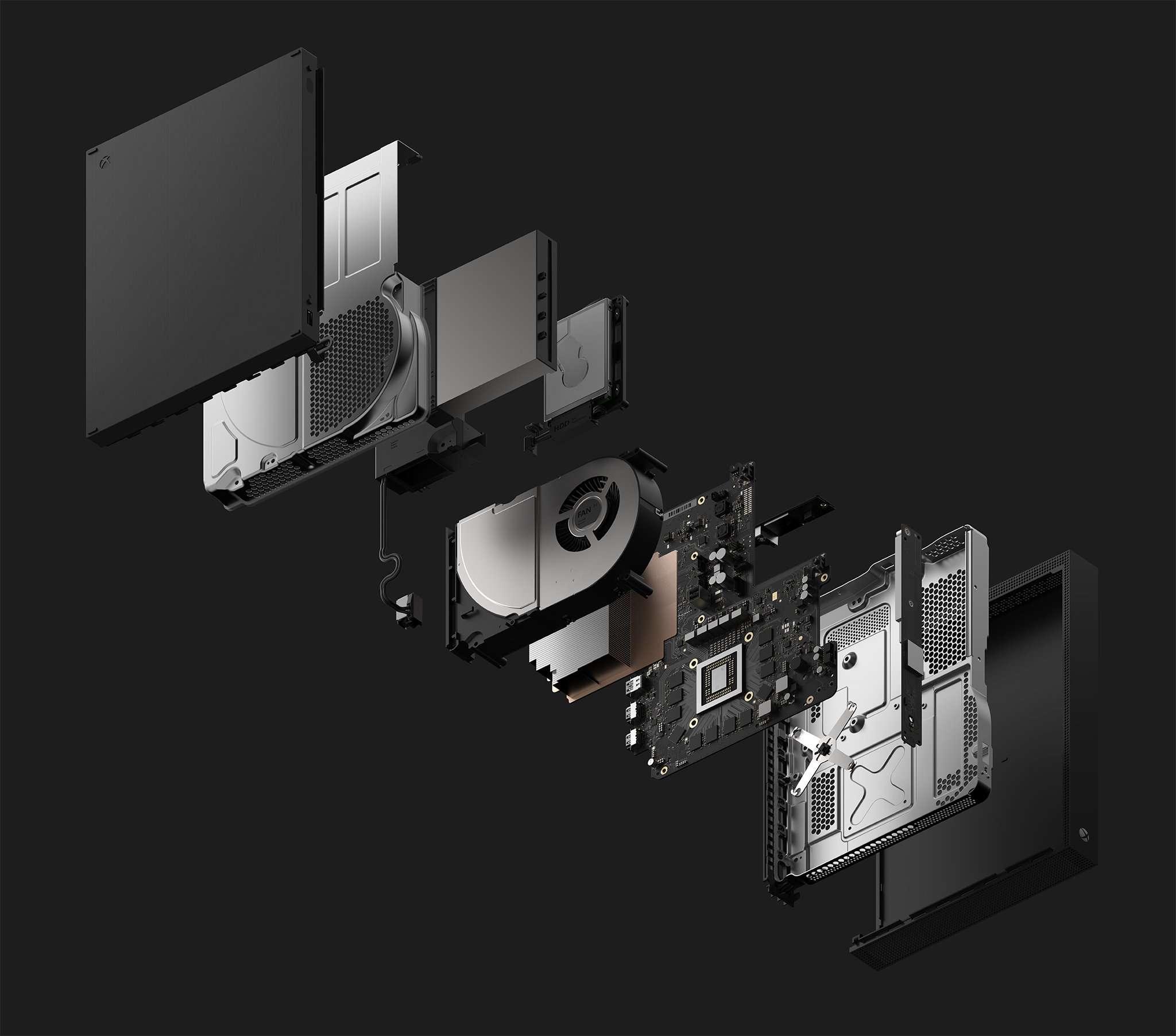 Xbox One X – budowa, co w środku? Jakie gry z natywną rozdzielczością 4K?