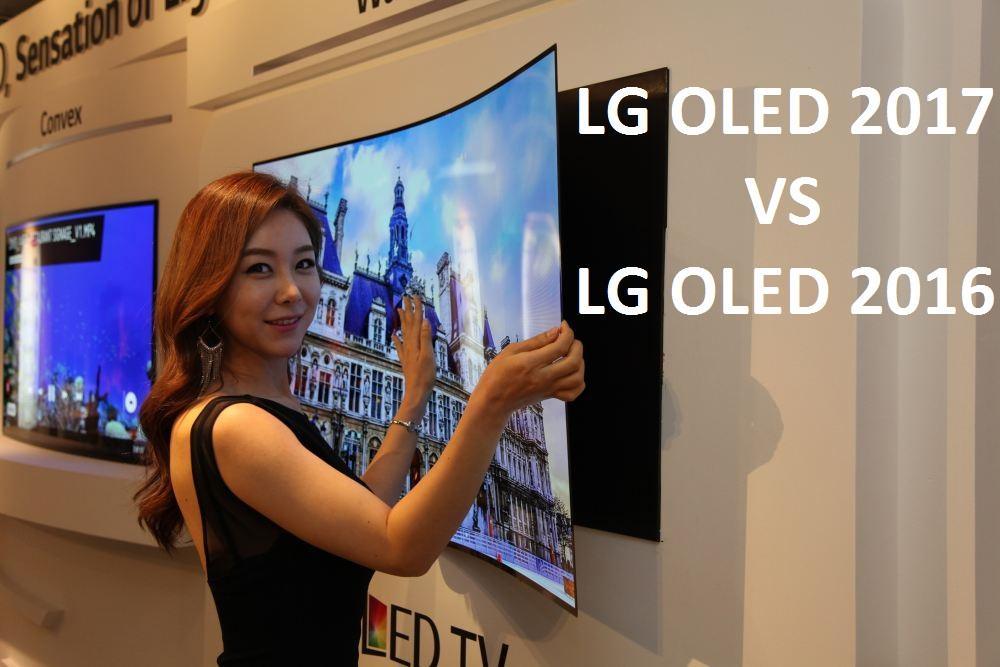 Czym różnią się telewizory LG OLED 2017 względem modeli 2016?