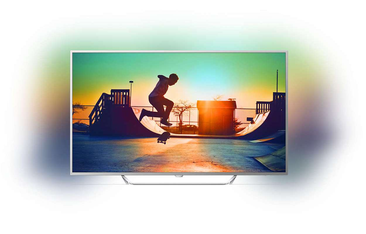 Philips PUS6412 TEST 2017 Android TV z Ambilight i matrycą IPS