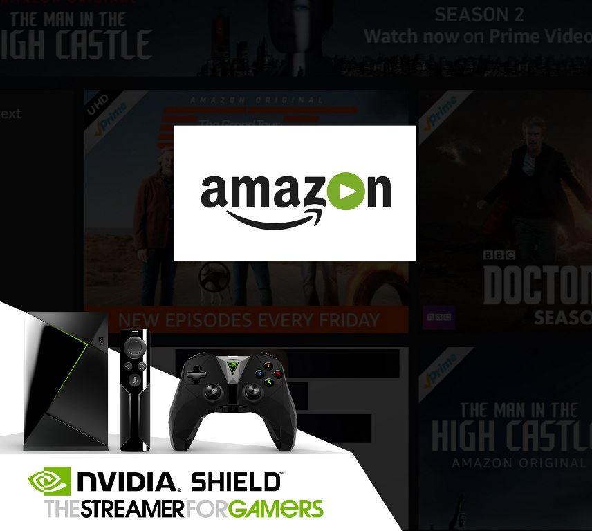 Usługa Amazon Video dostępna na NVIDIA SHIELD