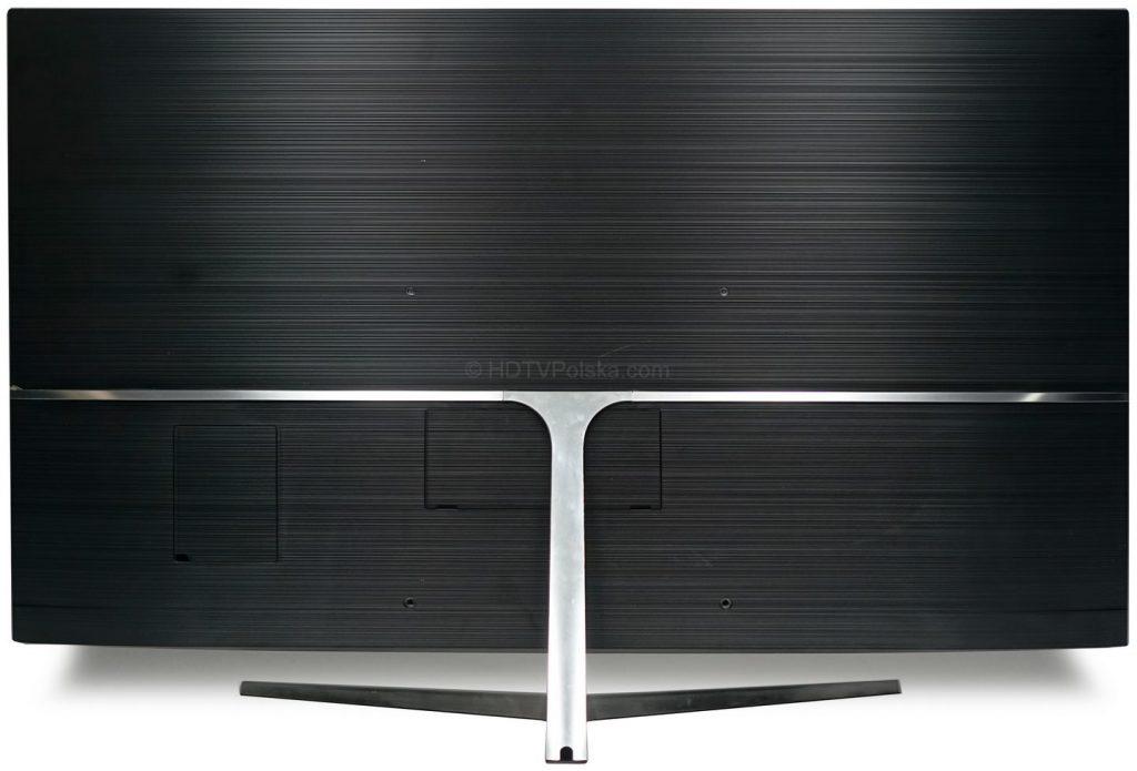 Telewizor Samsung Ultra HD MU8002 - tył