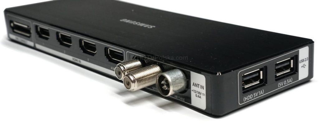 Listwa One Connect dostępna z telewizorami Samsung UHD MU8002