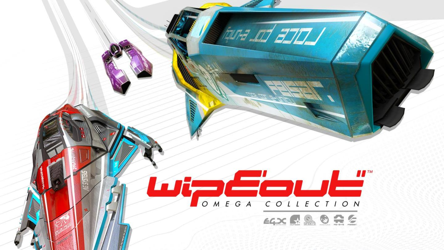 Recenzja WipEout Omega Collection