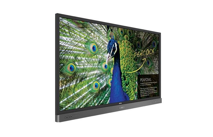 BenQ RP750K – 75 calowy, 20-punktowy ekran dotykowy UHD z powłoką antybakteryjną